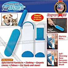 Refined  Hurricane Fur Wizard Pet Lint Hair Remover Reusable Self Cleaning Base