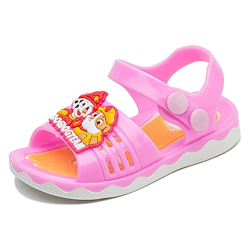 297611ab19fb Generic New style Baby Sandals Girls Sandals Children s Beach Shoes  Non-slip Soft Sandals Child Summer Kids Cartoon Shoes-pink