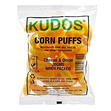 Cheese & Onion Corn Puffs, 20g