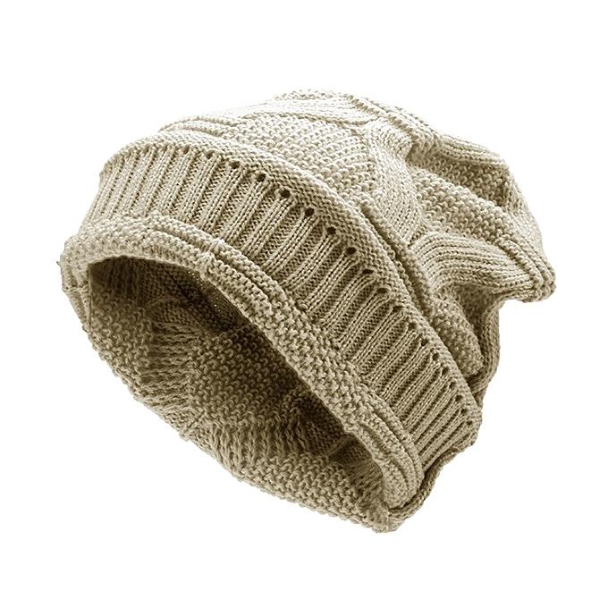 8c97d4b225069 Mens Women Knitted Bonnet Beanie Hat Casual Woolen Winter Warm Hat ...