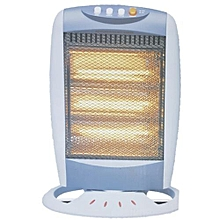 Halogen Portable Electric Room Heater - 1200W Max Power