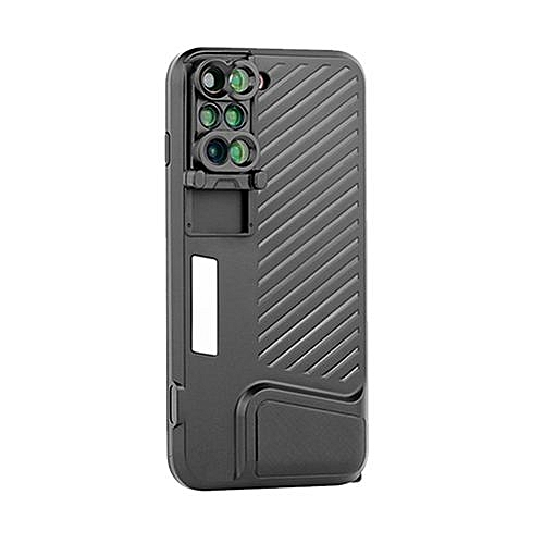 info for 93ecd 2037f 6 In 1 Phone Lens Cover Dual Camera Lens Phone Case Portable Fish Eye Wide  Angle Lens Phone Cover Case For IPhone 7 / 8 Plus