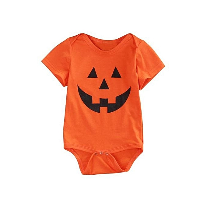 56727a8fd Eissely Fashion Kids Infant Baby Boys Girls Hallowmas Short Sleeve ...