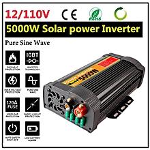 Solar Power Inverter Car 5000W Peak 10000W 12V DC To 110V AC Pure Sine Wave New
