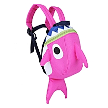 Lovely Kids Schoolbag Children Cartoon Animal Shaped Anti-lost Backpack With Rope