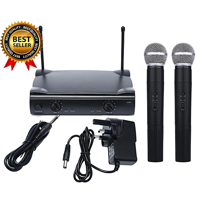 buy louis will dual wireless cordless microphone system with shure wireless ut4 type 2 mic uk. Black Bedroom Furniture Sets. Home Design Ideas