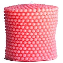 Artisan Candle 3-in-1 Pink Pearl Pillar - 300g
