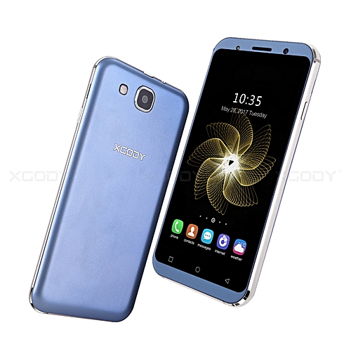 """XGODY 5.3"""" Smartphone 3G/2G 4 Core Dual SIM Android 8GB Cell Phone un-locked HD GPS"""