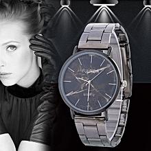 Women Retro Alloy Steel Bracelet Watch Watches Star Pattern Fashion Table F