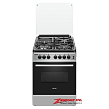 60x 60 Exzel 3 Gas + 1 Electric Electric Oven