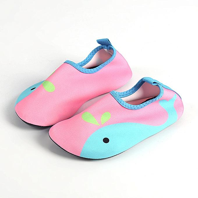 15558b30d47 Kids Boys Girls Aqua Shoes Beach Surf Swim Water Shoes Wetsuit Socks  Footwear