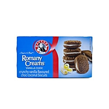 Romany Crunchy Biscuits Vanilla Flavoured - 200g