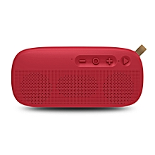 NR - 4012 Waterproof Wireless Bluetooth Speaker Stereo Sound Player-RED