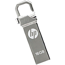 Flash Disk Drive With Clip - 16GB - Silver