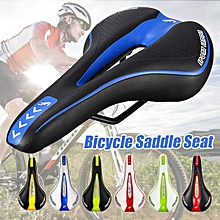 Soft Gel MTB Saddle Bike Cushion Leather Seat Pad Road Mountain Bicycle Cycling