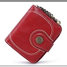 Ladies Purse Wallet -Red