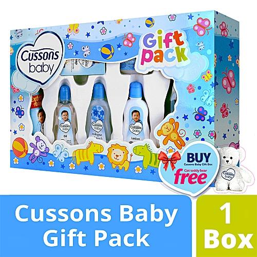 Baby Mild & Gentle  Giftbox, Buy 1 get a Teddy Bear Free.