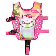 Cartoon Toddler Life Jacket Kids Swim Vest Swimming Float Bubble Swimsuit  L