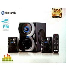 2.1 CH subwoofer - 5500W PMPO - BLUETOOTH/USB/FM - SHT1209BT - Black