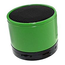 Mini Bluetooth Wireless Stereo Speakers FM, Memory Card, Bluetooth, USB - Green