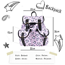 unicorn backpack Women bag Student travel double pocket with backpack  Vintage 75b98f5d3d8b8