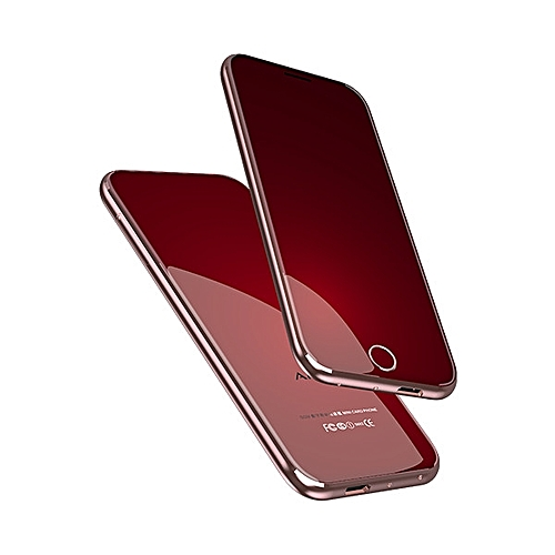 "Anica T8 1.54"" 400mAh Bluetooth Mini Small Cell Phone Support Dual SIM Card"