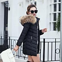 Fashion Fashion Winter Women Jacket Long Thick Warm Slim Coat Overcoat-AS  Shown