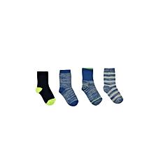 Boy Blue Socks Set