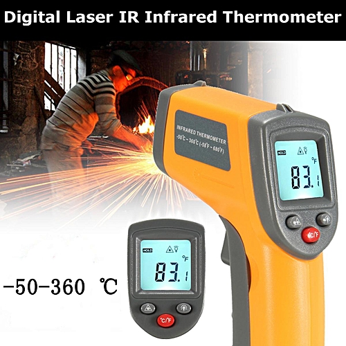 Generic Non-Contact Digital Laser IR Infrared Thermometer Temperature tool  -50~ to 360~ () LJMALL   Best Price  40148aa8599fc