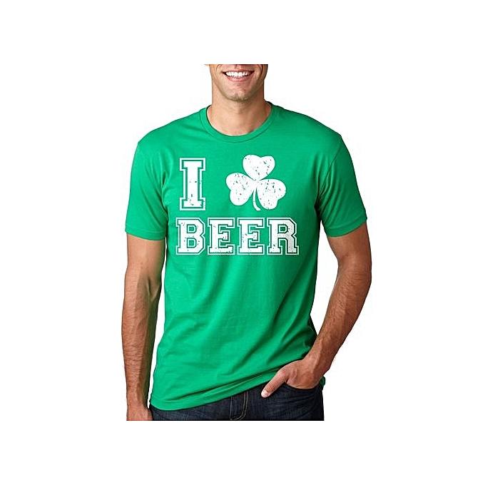 992e2b65b St Patrick's Day T-Shirt Funny Irish Pub Clover Shamrock Shenanigans Beer  Tee Shirt