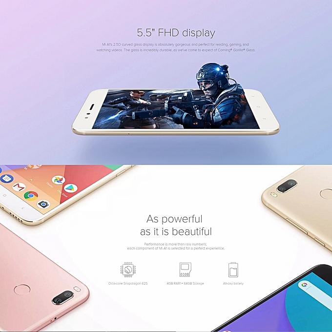 ... Xiaomi Mi A1, 4GB+64GB, Global Official Version, Dual Back Cameras, ...