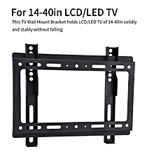 TV Wall Mount Universal TV Wall Mount Bracket Solid Holding Wall TV Mount for 14-40in LCD/LED TV