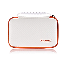 TYD - 055 EVA Screen Protection Film Storage Bag For New 2DS LL / XL-White And Orange