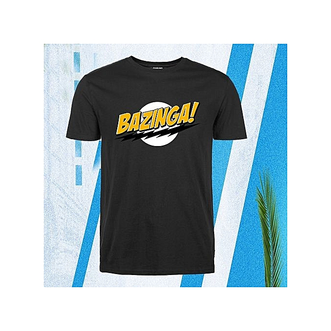 Funny T Shirt The Big Bang Theory Bazinga Streetwear Men Tops Tees Cool  Streetwear Brand Clothing 0f4cc627e