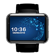 DM98 Smart Watch 512MB + 4GB 2.2 inch IPS Capacitive Touch Screen MT6572A Dual Core 1.2Ghz Bluetooth 4.0 Smart Watch Phone(Black)