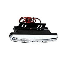 8LED Daytime Driving Running Light DRL Car Fog Lamp Waterproof DC 12V