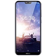 Nokia X6 4G Phablet 5.8 inch Android 8.1 Qualcomm Snapdragon 636 Octa Core 4GB RAM 64GB ROM 16.0MP + 5.0MP Dual Rear Cameras Fingerprint Sensor Face ID 3060mAh Built-in-DEEP BLUE