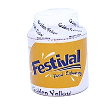 FESTIVAL FOOD COLOUR GOLD YELLOW40G