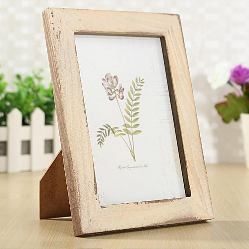 Buy Generic Vintage 5\'\' Solid Wood Photo Picture Frame Wall Hanging ...