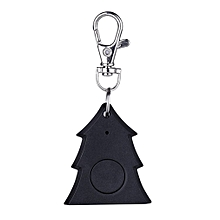 Mini Christmas Tree Shape Smart Tag Bluetooth 4.0 Wallet Key Keychain Finder-black