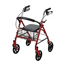 4 Wheel Drive Rollator Walker Cum WheelChair Foldable