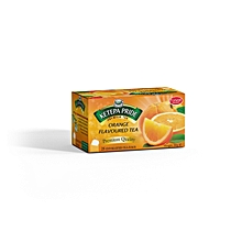 Orange Flavored Tea Bags 25 Pieces