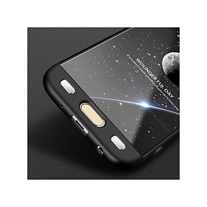 UNIVERSAL For Galaxy J7Pro J730 Case, 360 Degree Full Protection + Ultra Thin Protective Hard PC Shockproof Back Full Cover Case For Samsung Galaxy J7 Pro ...