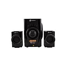 SHT-1156BT - Sub Woofer 2.1 Multimedia Speaker 5700W P.M.P.O - Black
