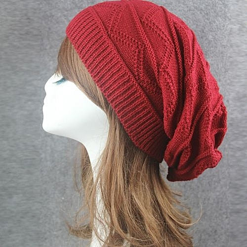 d09c5f3d77f Eissely Men Women Winter Fluff Crochet Hat Wool Knit Beanie Warm Caps    Best Price