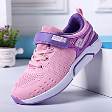 Kids Running Shoes For Girls Fashion Breathable Sport Sneakers Spring Big Children Shoe