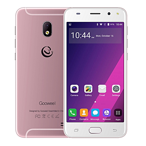 Gooweel S7 Smartphone 5.0-Inch QHD (1GB, 8GB ROM) Quad Core Android 5.1,5MP+2MP Camera 2200mAh 3G Mobile Phone GPS- Rose gold
