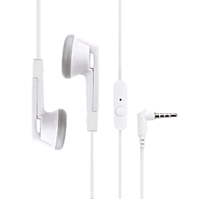 X42M HiFi Noise Isolating Stereo Dynamic Earphones Headphones With Microphone(WHITE)