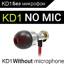 New QKZ KD1 HIFI fone de ouvido auriculares audifonos gaming headset fones de ouvido Earphones PRI-P