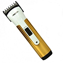 Rechargable Shaver/Smoother - Gold & White